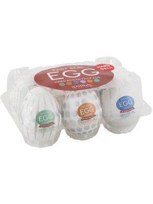 Tenga: Easy Beat Egg, Hard Boiled Package, 6-pack